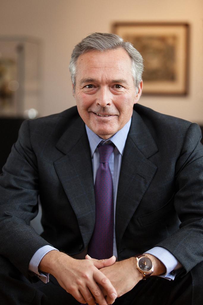 Chopard CEO Karl-Friedrich Scheufele