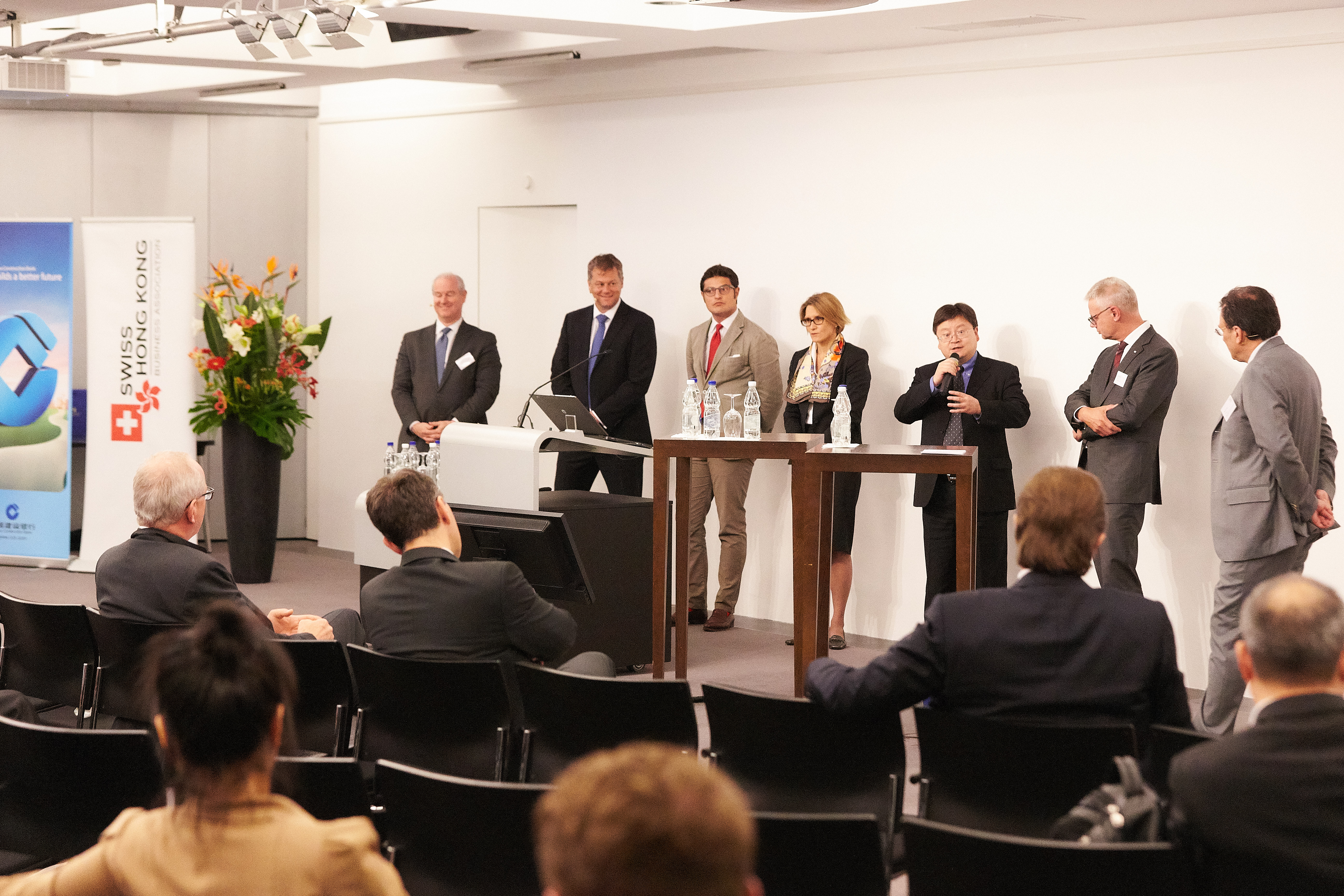 RMB Internationalization – Road to 2020 is an Event of the Swiss-Chinese Chamber of Commerce www.sccc.ch  Foto: © 2017 by partners in GmbH · Stefan Weiss · www.partnersingmbh.ch